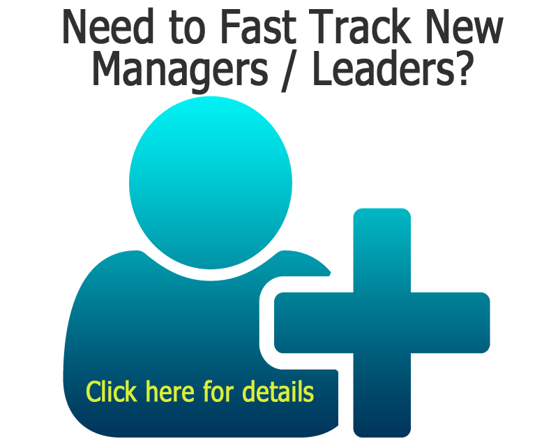 Fast Track New Managers and Leaders
