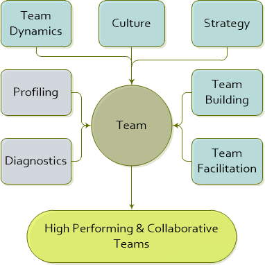 Team Development - high performing and collaborative teams